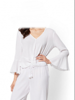2018 white  blouses and top