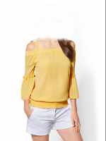 yallow  design  blouses and top