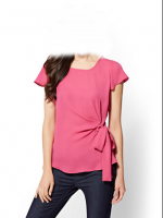 pink   blouses and top