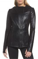 comfortable  women  leather jacket