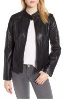 Classically   women  leather jacket