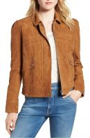vintage  women leather jacket