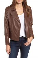 cool look   women leather jacket