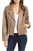 smart design  women  leather jacket