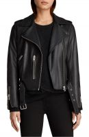 Rock a classically women  leather jacket