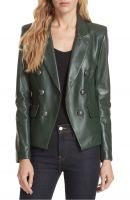 decent   women leather jacket