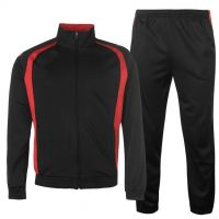 red and black combo men tracksuit