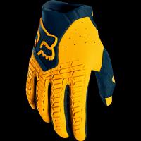 DECENT YELLOW racing gloves