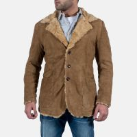 latest  leather long coat