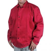 Red, Cotton Welding Jacket