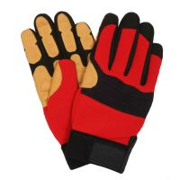 RED   fire gloves
