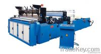 embossing rewindind and perforating toilet paper machine