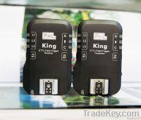 King wireless TTL flash trigger