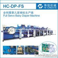 HC-DP-FS Full Servo baby diaper making machine