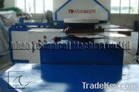 Glove dotting and printing machine