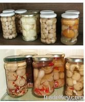 Canned food (Canned Mixed Mushroom)