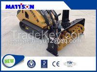 MATTSON ML526W WHEEL LOADER mini skid steer loader with 4 in 1 bucket or standard bucket
