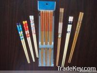 Carbonizated packaged paint chopsticks