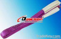 WLL1Ton Webbing Slings Polyester Flat Eye China Supplier