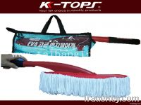 Microfiber brush for car and household wash and cleaning
