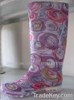 Ladies PVC Rainboots