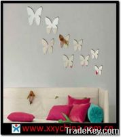 Acrylic Mirror Wall Sticker