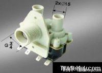 Washing machine water valve