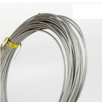 Multi-layer Carbon or Stainless Steel Wire Rope/PVC Coated Steel Wire Rope/ Galvanized Steel Wire Rope