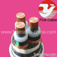 XLPE insulated copper cable