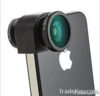 Clip-on Lens 3 in 1 Fish Eye Lens + Wide Angle + Macro Lens