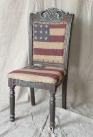Americal flag chair