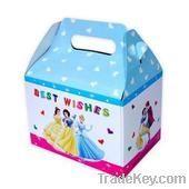 2013 delicated design romantic packaging box for candy