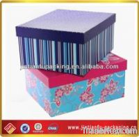 fashionable shoe packaging box for ladies