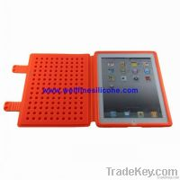 2012 Creative Building Block Silicone Case for iPad2 & New iPad