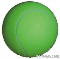 """Green colour inflated 8"""" big tennis ball"""