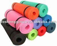 Low-odour training mat