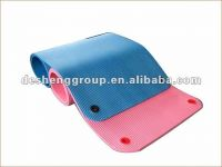 Low-odour rubber mat