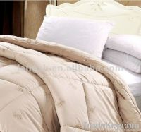 Sandwich Pattern 100%Cotton Camel Hair Quilting Comforter
