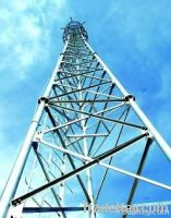 steel plate galvanized spray paint electrical distribution tower