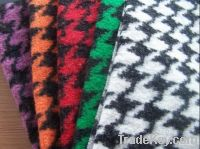 Knitted Woolen Fabric, jacquard wool fabric