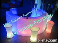 Color Changing LED Glow Bar Stool