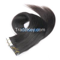 remy hair tape hair extension , skin weft tape hair extensions