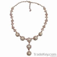 New fashion pearl pendant necklace