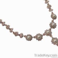New fashion pearl pendant necklace
