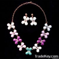 New fashion Colorful resin  Pendant Necklace