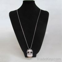 Fashion cute owl pendant necklace
