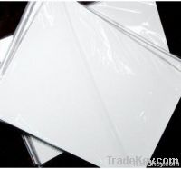 glossy coated paper