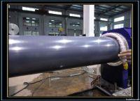 plastic pipe machine/plastic pipe production line/PVC pipe production line/PE pipe making machine