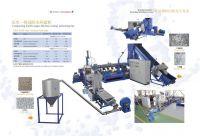 PE PP films recycling machine/PE PP granulating line/PE PP pelletizing line