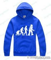 wholesale cheap long sleeve hooded sweatshirt with printing for men